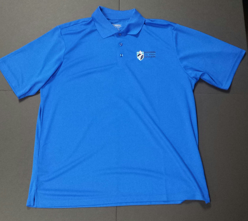 Cover Image For Men's Short Sleeve Collared Polo